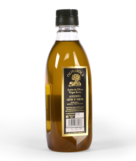 Olivasola Botella PET 500ml